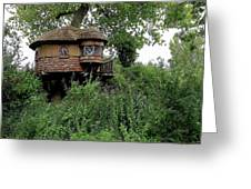 Hidden Treehouse Greeting Card