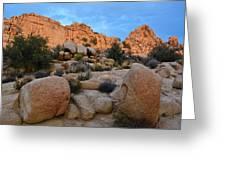 Hidden Valley Sunset Greeting Card