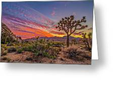 Hidden Valley Sunset Greeting Card