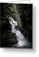 Hidden Waterfall Greeting Card