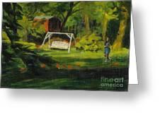 Hiedi's Swing Greeting Card