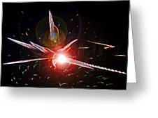 Higgs Boson Work B Greeting Card