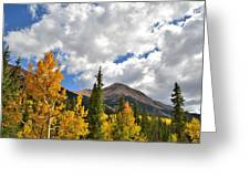 High Country Fall Greeting Card