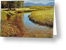 High Country Gold Greeting Card