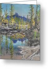 High Country Lake Greeting Card