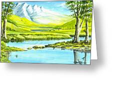 High Country Meadow Greeting Card