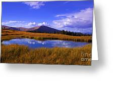 High Country Pond Greeting Card