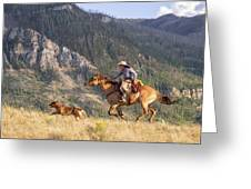 High Country Ride Greeting Card