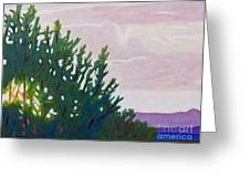 High Desert Glow Greeting Card