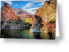 High Desert Lake Greeting Card