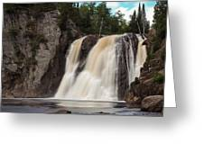High Falls Of Tettegouche State Park 1 Greeting Card