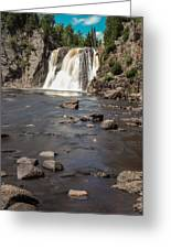 High Falls Of Tettegouche State Park 3 Greeting Card