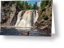 High Falls Of Tettegouche State Park2 Greeting Card