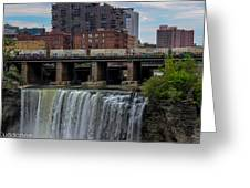 High Falls, Rochester  Greeting Card