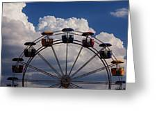 High In The Sky Greeting Card