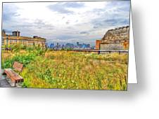 High Line On The Hudson Greeting Card