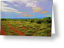 High Mesa Path Greeting Card