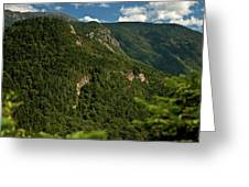 High On The White Mountains Greeting Card