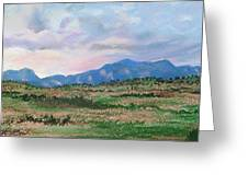 High Plains IIi Greeting Card by Lucinda  Hansen