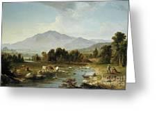 High Point  Shandaken Mountains, 1853 Greeting Card