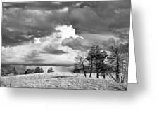 High Prairie Thunderheads Greeting Card