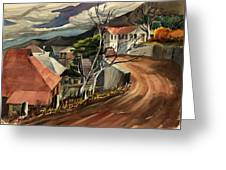 High Road At Jerome Greeting Card