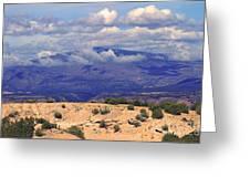 High Road To Taos Panorama Greeting Card