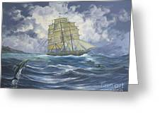 High Seas Adventure Greeting Card