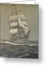 High Seas Greeting Card