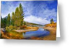 High Sierra Heaven Greeting Card