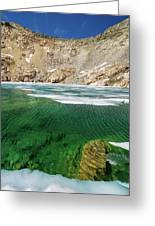 High Sierra Tarn Greeting Card