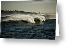 High Surf Greeting Card