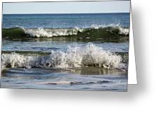 High Tide Coming Greeting Card