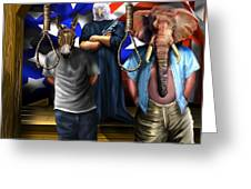 High Treason - State Of The Union-a House Divided1 Greeting Card