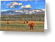 Highland Colorado Greeting Card