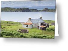 Highland Cottage Greeting Card