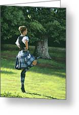 Highland Dancer Greeting Card