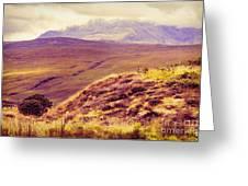 Highland Landscape Greeting Card