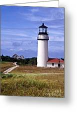 Highland Light Truro Greeting Card