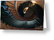 Highland Lighthouse Stairs Cape Cod Greeting Card