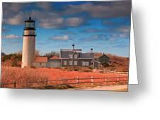 Highland Lighthouse Truro Massachusetts Greeting Card