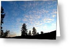 Highland Sunrise Greeting Card