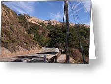 Highway 1 Greeting Card