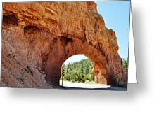 Highway 12 Dixie Tunnel Utah Greeting Card