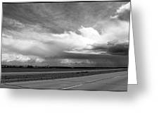 Highway 5 Clouds Greeting Card