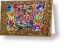 Highway Of Emotions Greeting Card