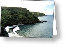 Highway To Hana Greeting Card