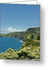 Highway To Heaven Hana Highway Maui Hawaii Greeting Card