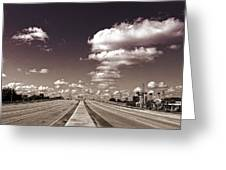 Highway To Paradise Greeting Card