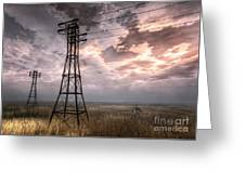 Highwire Greeting Card